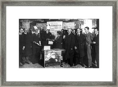 George H Framed Print by Granger
