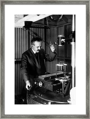 George Hale Framed Print