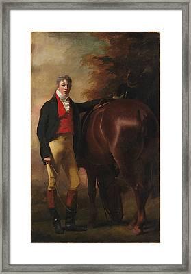 George Harley Drummond 1783-1855 Framed Print by Sir Henry Raeburn