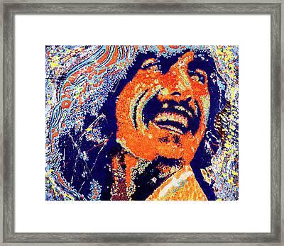George Harrison Framed Print by Barry Novis