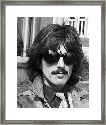 George Harrison Beatles Magical Mystery No.2 Framed Print by Chris Walter