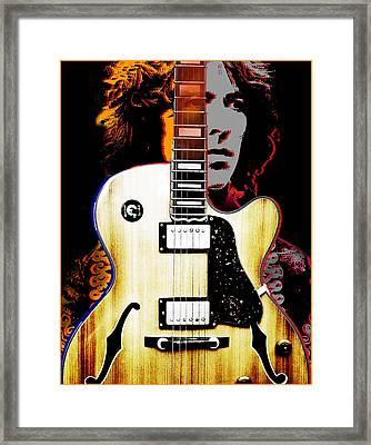 George Harrison Framed Print by Larry Butterworth