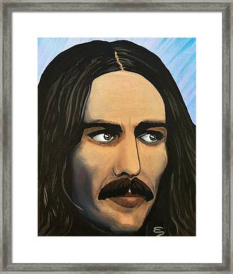 George Harrison The Mystic Framed Print