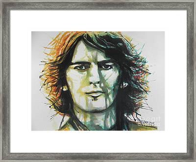 George Harrison 01 Framed Print