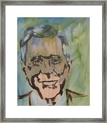 George In Acrylic  Framed Print