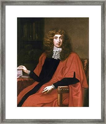 George Jeffreys (1645-1689) Framed Print