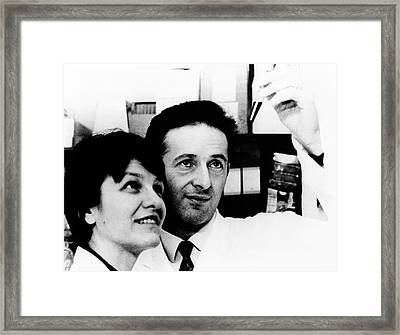 George Klein Framed Print