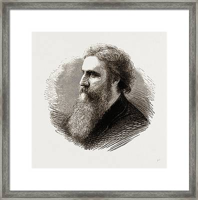 George Macdonald Framed Print by Litz Collection