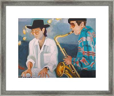 George Michalski And Vince Wallace Framed Print