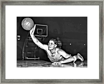George Mikan Framed Print