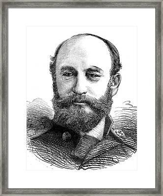 George Nares Framed Print