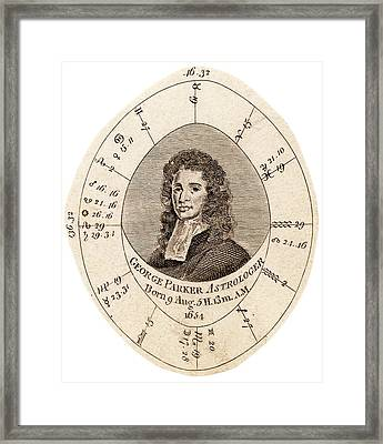 George Parker Framed Print by Universal History Archive/uig