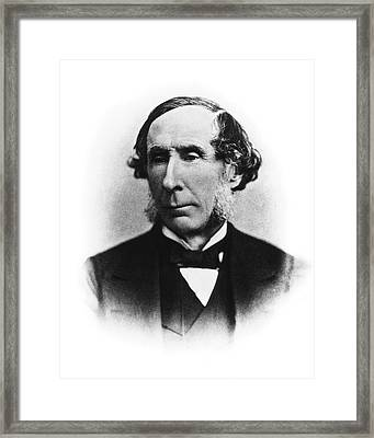 George Rees Framed Print by National Library Of Medicine