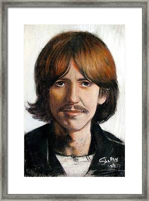 George Framed Print by Shelley Phillips