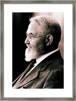 George Shull Framed Print