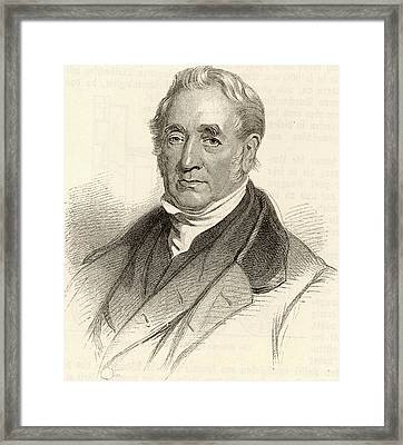 George Stephenson Framed Print