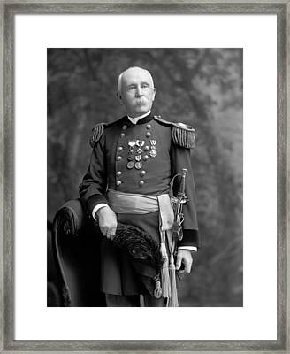 George Sternberg, Us Army Physician Framed Print by Science Photo Library