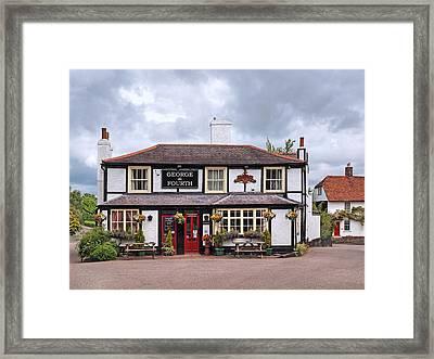 George The Fourth Pub Framed Print by Gill Billington