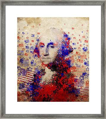 George Washington 3 Framed Print