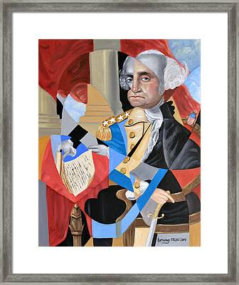 George Washington Framed Print by Anthony Falbo