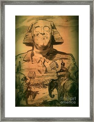 George Washington At His Best Framed Print