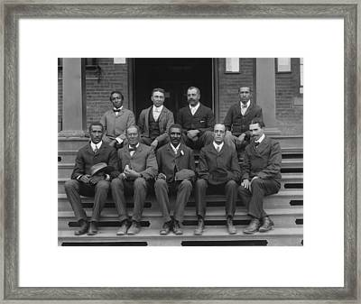 George Washington Carver And Staff 1902 Framed Print by Mountain Dreams