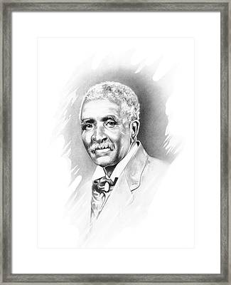 George Washington Carver Framed Print by Gordon Van Dusen
