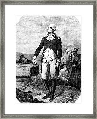 George Washington Framed Print by Collection Abecasis