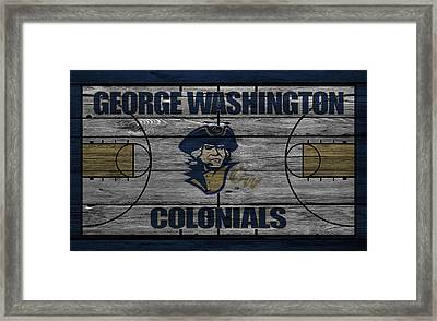 George Washington Colonials Framed Print by Joe Hamilton