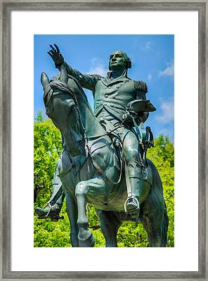 George Washington Monument Framed Print