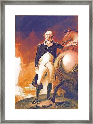 George Washington's Got It Going On Framed Print