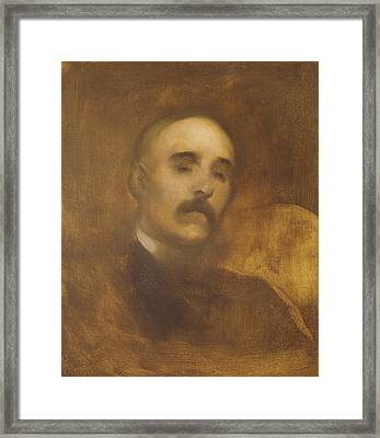 Georges Clemenceau  Framed Print by Eugene Carriere