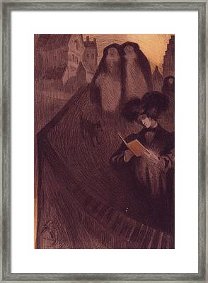 Georges De Feure, 1868-1943 Framed Print by Liszt Collection