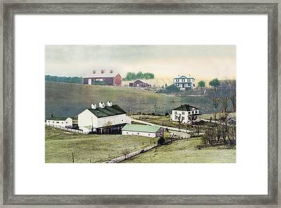 Georges Farm Framed Print