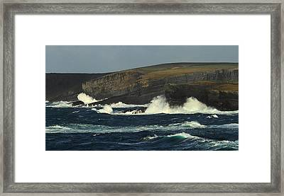 Georges Head Kilkee Framed Print
