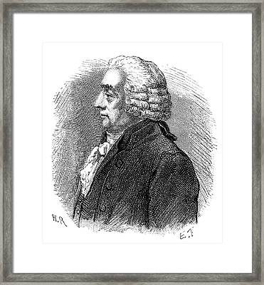 Georges-louis Le Sage Framed Print by Science Photo Library