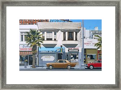 George's One 17 Framed Print by Michael Ward