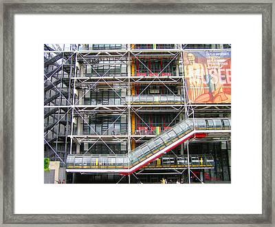 Georges Pompidou Centre Framed Print