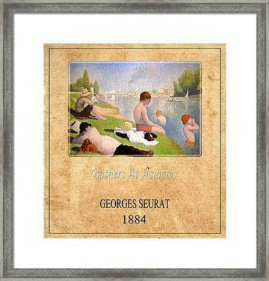Georges Seurat 1 Framed Print by Andrew Fare