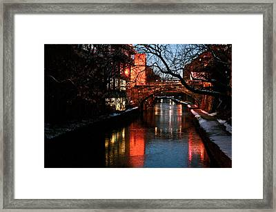 Georgetown Glimmer Framed Print