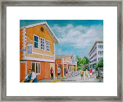 Georgetown Grand Cayman Framed Print by Frank Hunter