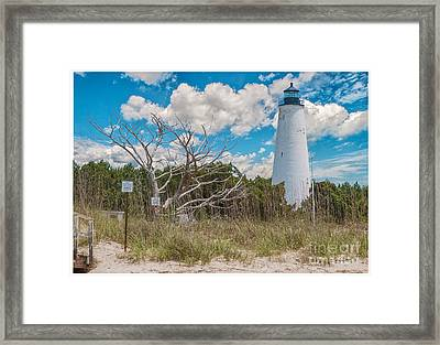 Georgetown Sc Lighthouse Framed Print