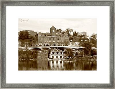Georgetown Framed Print