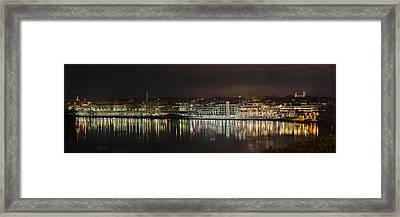Georgetown Waterfront Framed Print by Metro DC Photography