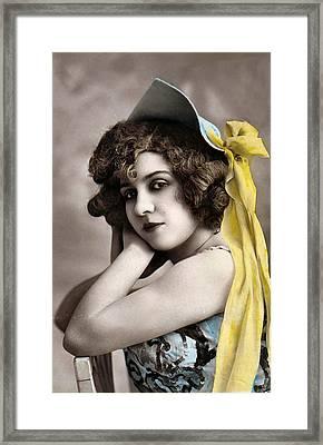 Georgette Delmares Framed Print by Studio Photo