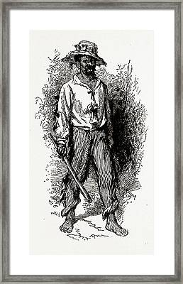 Georgia, A Greene County African-american Framed Print by Litz Collection