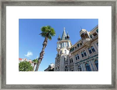 Georgia, Batumi Batumi Astronomical Framed Print by Alida Latham