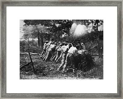 Georgia Chain Gang, 1892 Framed Print by Granger