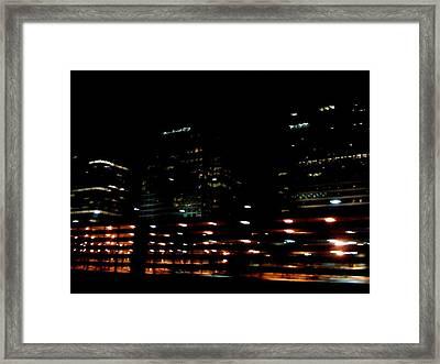 Georgia Lights Framed Print