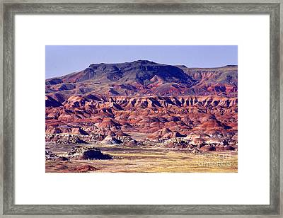 Georgia O'keefe Country - The Painted Desert Framed Print by Douglas Taylor